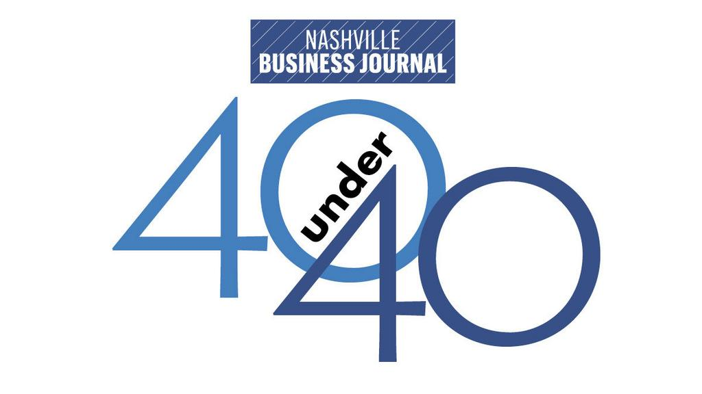 Nashville Business Journal 40 Under 40 logo